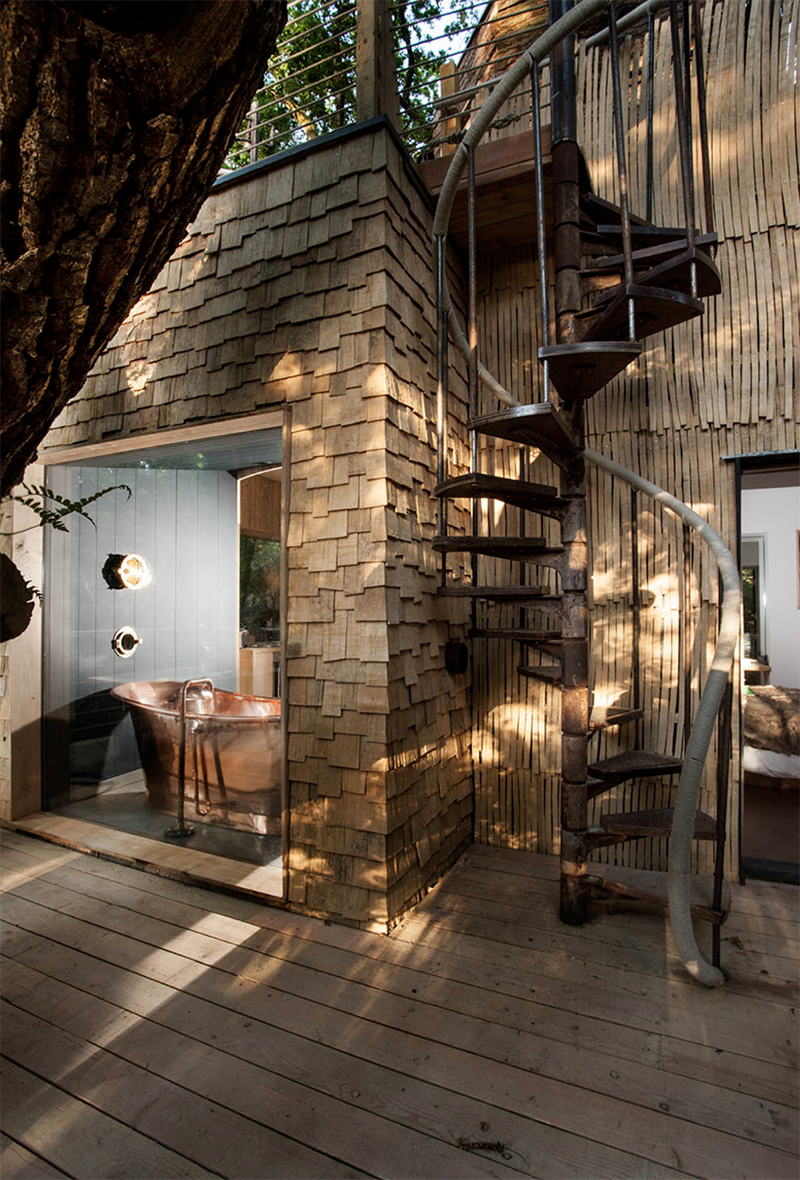 Woodsman Treehouse Dorset