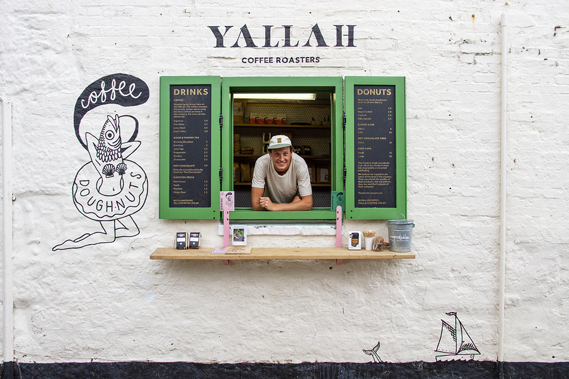 Yallah Coffee St Ives