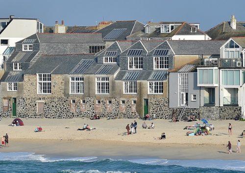 Studios Exterior, Porthmeor Beach