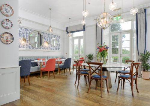 Laura Ashley Tea Room Cornwall